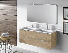Mueble de baño Landes Coycama suspendido 4