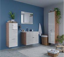 Mueble de baño NASSA - lacado blanco