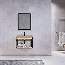 Mueble de Baño suspendido + Lavabo 60 cm PURE –