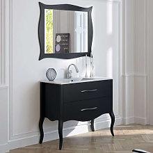 Mueble de baño Torvisco Erie con patas 2 cajones