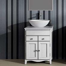 Mueble de baño Torvisco Indo con patas 2 puertas
