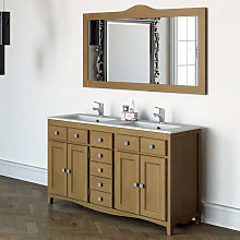 Mueble de baño Torvisco Indo con patas 4 puertas