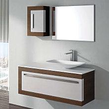 Mueble de baño Torvisco Kuma suspendido 1 cajón