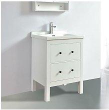 Mueble de baño TYPO 60 cm acabado en fibra de