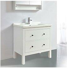 Mueble de baño TYPO 80 cm acabado en fibra de