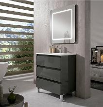 Mueble de baño Viso Bath Box I con patas 3 cajones