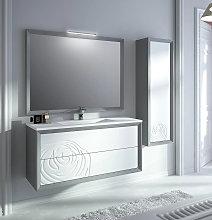 Mueble de baño Viso Bath Decor Rosa suspendido o