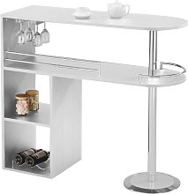 Mueble de bar FRANZ - Blanco