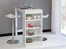 Mueble de bar JANIS - Color Blanco