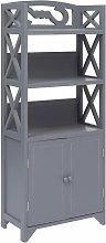 Mueble de cuarto de bano madera Paulownia gris