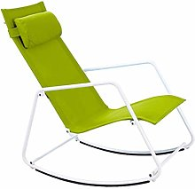 Mueble de jardín/Silla reclinable Mecedora Silla