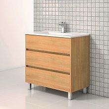 Mueble de Lavabo con Patas ALCOA - 80 cm de ancho