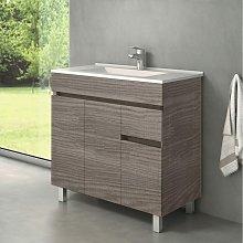 Mueble de Lavabo con Patas CLIF - 80 cm de ancho