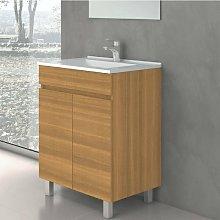 Mueble de Lavabo con Patas LUUP - 60 cm de ancho