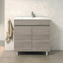 Mueble de Lavabo con Patas LUUP - 80 cm de ancho