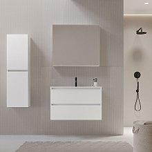 Mueble de lavabo LIMPIO 80 cm color blanco