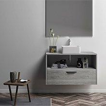 Mueble Lavabo BURMA suspendido un cajón y lavabo