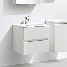 Mueble lavabo + lavabo 60cm MONTADO SIENA BLANCO