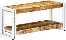 Mueble para TV de madera maciza de mango 90x30x40