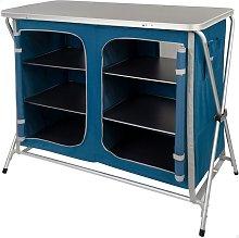 Mueble plegable para camping 2 organizadores -
