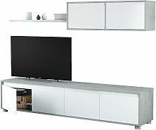 Mueble Salon TV Cemento