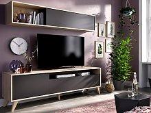 Mueble TV ALBORA - Con compartimentos - Color: