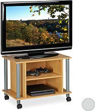 Mueble TV con ruedas, Mesa televisión con 2