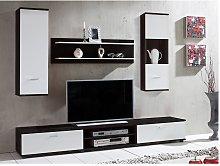 Mueble TV JEREMIAH con compartimentos - Color: