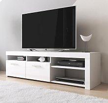 Mueble TV modelo Clio (140x40cm) color blanco