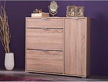 Mueble zapatero ARIETTA - 2 compartimentos, 1