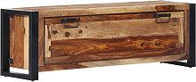 Mueble zapatero de madera maciza sheesham