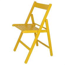 Mueblear - Silla plegable BAS amarilla