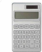 MUJI Calculadora 8 Dígitos, Aluminio, Plata,