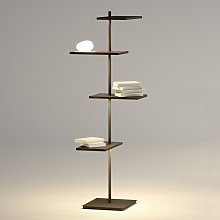 Multifuncional lámpara de pie LED Suite 133 cm