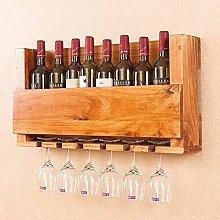 MUMUMI Estante de Exhibición de Vino, Estante de