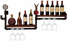 MUMUMI Estante de Exhibición de Vino, Estantes