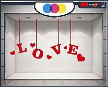 mural stickers Ventanilla San Valentín –