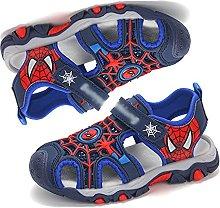 MYYLY Chanclas Spiderman para Niños Sandalias