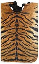N\A Cesto de lavandería, Animal Tiger Print