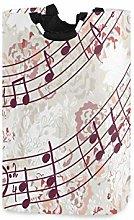 N\A Cesto de lavandería, Nota Musical Cestas de