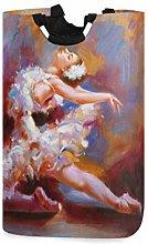 N\A Cesto de Ropa, Bailarina de Ballet Pintura