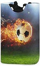 N\A Cesto de Ropa, Fuego Fútbol Neto Deporte