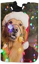N\A Cesto de Ropa, Navidad Animal Perro Cestas de