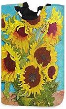 N\A Cesto de Ropa, Van Gogh Girasol Floral Cestas