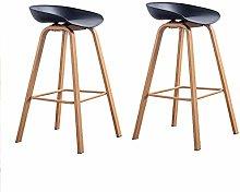 N/A Conjunto de 2 taburetes de Bar Modernos y