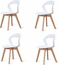 N/A conjunto de cuatro modernas sillas de