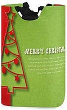 N\A Merry Christmas Cesto de lavandería Cesto de