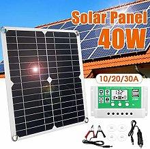 N\A Panel Solar 40W de Alta eficiencia Panel de