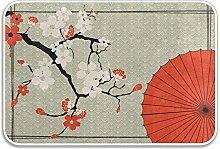 N\A Sombrilla Japonesa Alfombrilla de Cerezo