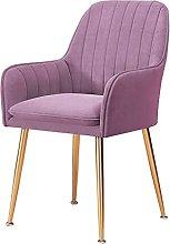 N&O Juego de sillas de Cocina Retro Terciopelo